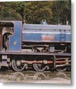Industrial Steam Engine Metal Print