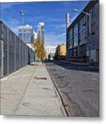 Industrial Street Metal Print