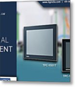 Industrial Thin Client - Itg India Metal Print