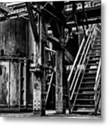 Industry Abandoned  Metal Print