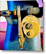 Industry In Color Metal Print