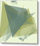 Industry Polygon Pattern Metal Print