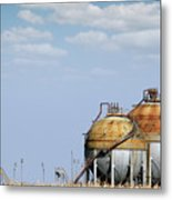 Industry Tank For Gas And Liquid Metal Print