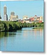Indy White River View Metal Print
