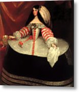Inez De Zuniga - Countess Of Monterrey Metal Print