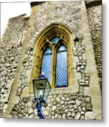 Infamous White Tower Of London Metal Print