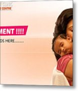 Infertility Treatment From Best Ivf Centre In India Metal Print