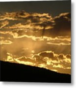 Infinite Light Metal Print