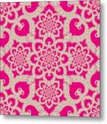 Infinite Lily In Pink Metal Print