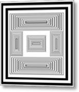 Infinite Maze 2 Metal Print