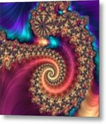 Infinite Rainbow Metal Print