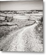 Infinity Road To Santiago Metal Print
