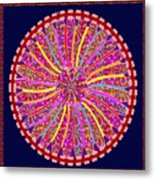 Infinity Star Flower An Abstract Fineart Expression By Navinjoshi At Fineartamerica.  Colorful Fun Metal Print