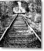 Infinity Train Metal Print