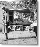 Influenza Epidemic, 1918 Metal Print