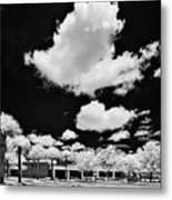 Infrared Indian River State College Hendry Campus #1 Metal Print