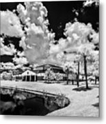 Infrared Indian River State College Hendry Campus #11 Metal Print