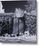 Infrared Mill 2 Metal Print