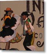Inka Dancers Metal Print