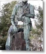 Inland Northwest Veterans Memorial Statue Metal Print