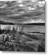 Inland Sea At Skye Metal Print