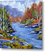Inland Water Metal Print