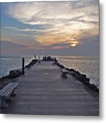 Inlet Fort Pierce Metal Print