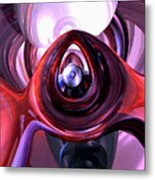 Inner Peace Abstract Metal Print