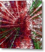 Inner Reaction To Your Voice Metal Print