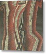 Inner Turmoil  Original Metal Print