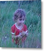 Innocense Of A Child Metal Print