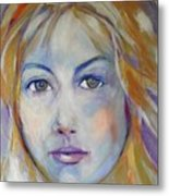 Innocent In Iridescents Metal Print