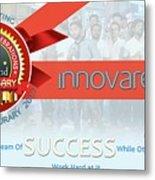 Innovare It Solutions Metal Print