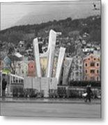 Innsbruck Art Metal Print