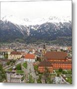 Innsbruck View Metal Print