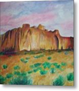 Inscription Rock  Metal Print