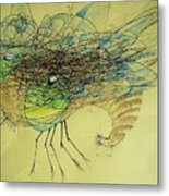 Insect Metal Print by Paulo Zerbato