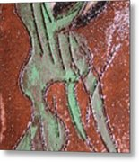 Insect Tile Metal Print