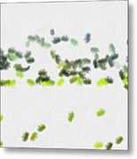 Insects Marching All Over Metal Print