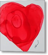 Inside My Heart 2 Metal Print