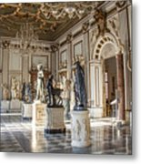 Inside One Of The Rooms Of The Capitoline Museums In Rome, Italy  Metal Print