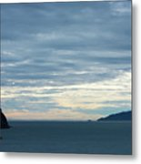 Inside Passage Sunset Metal Print