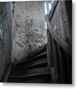 Inside The Castle Frankenstein Metal Print