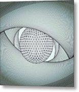 Inside The Eye Metal Print