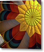 Inside The Heart Of A Hot Air Balloon Metal Print