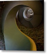 Inside The Old Lighthouse Metal Print