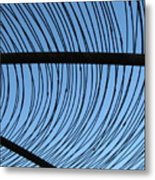 Inside The Spider's Web Metal Print
