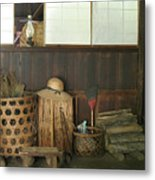 Inside The Traditional Japanese House Metal Print