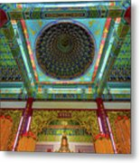 Inside Thean Hou Temple Metal Print