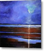 Inspiration Beach Metal Print